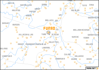 map of Furao
