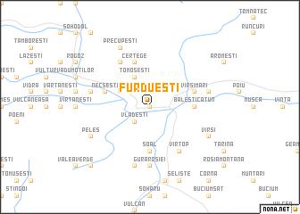 map of Furdueşti