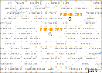 map of Fürholzen