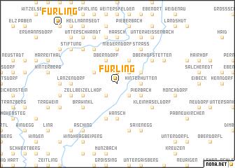 map of Fürling