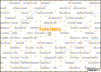 map of Fürstberg
