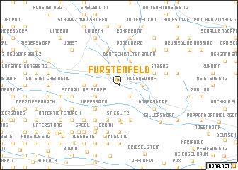 map of Fürstenfeld