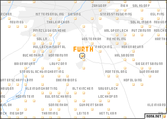 Furth Germany map nonanet