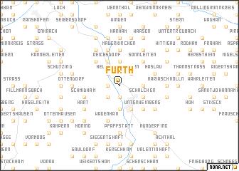 map of Furth