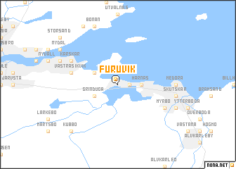 Furuvik Sweden Map Nonanet