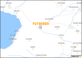 map of Futaebori