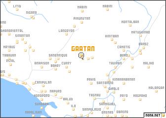 map of Gaatan