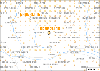 map of Gaberling