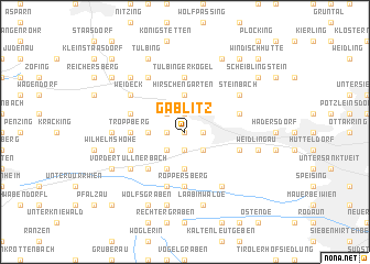 map of Gablitz