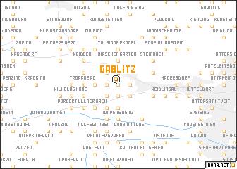 map of Gablitz