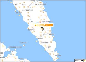 map of Gabungahan