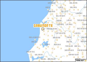 Gabu Norte Philippines map nonanet
