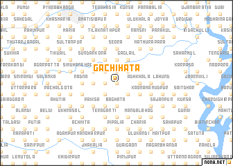map of Gachihāta