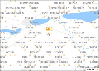 map of Gać