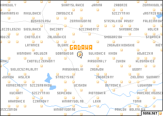 map of Gadawa