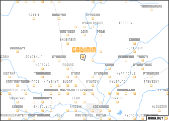 map of Gadin-in
