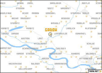 map of Gadow