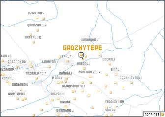 map of Gadzhytepe