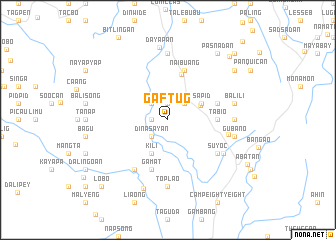 map of Gaftug
