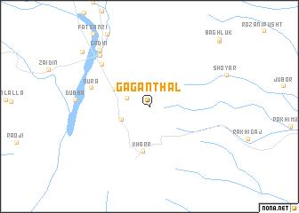 map of Gāgan Thal