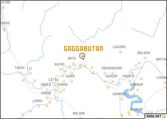 map of Gaggabutan