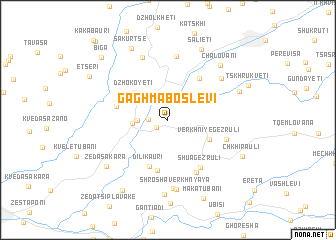 map of Gaghma Boslevi