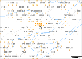 map of Gagolin