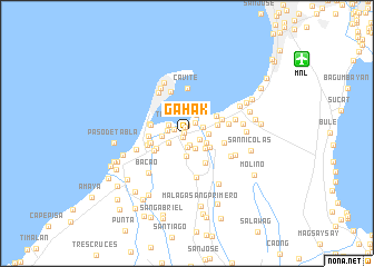 map of Gahak