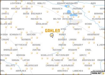 map of Gahlen