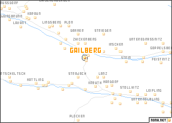 map of Gailberg