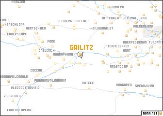 map of Gailitz
