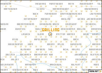 map of Gailling