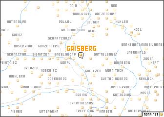 Gaisberg Austria map nonanet