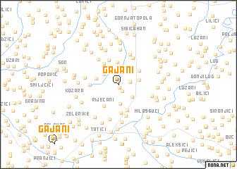 map of Gajani