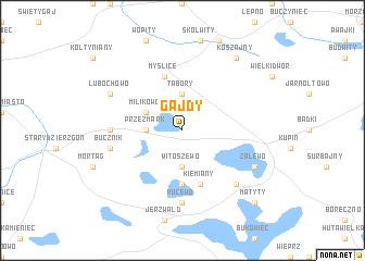 map of Gajdy