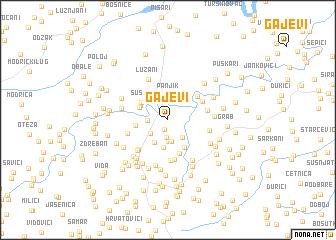 map of Gajevi