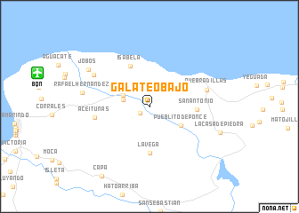 map of Galateo Bajo