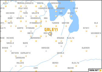 map of Galeyī