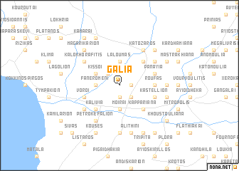 map of Galiá