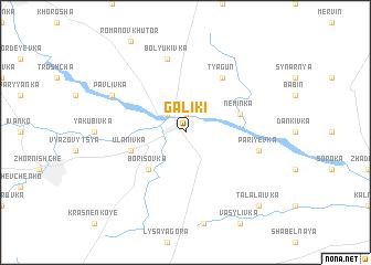 map of Galiki
