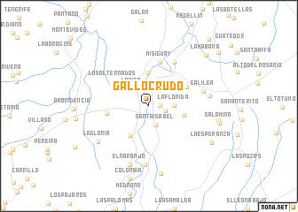 map of Gallocrudo