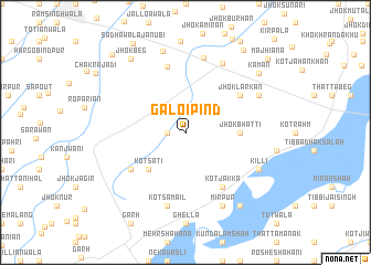 map of Galoi Pind