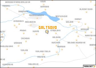 map of Gal\