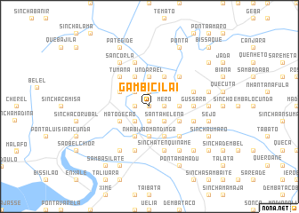 map of Gambicilai