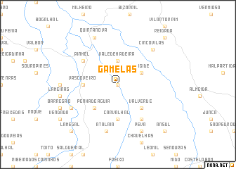 map of Gamelas