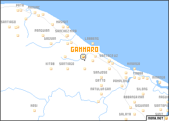 map of Gammaro