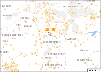 map of Gamma