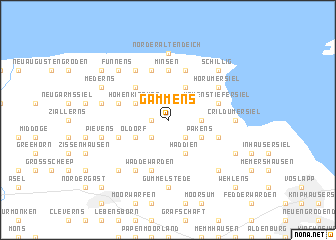 map of Gammens