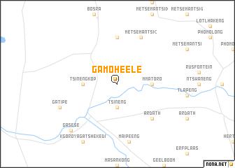 map of Ga-Moheele