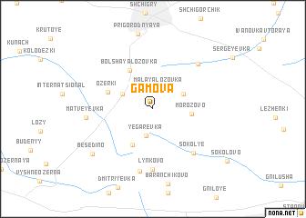 map of Gamova